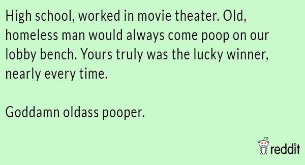 Movie Theater Pooper