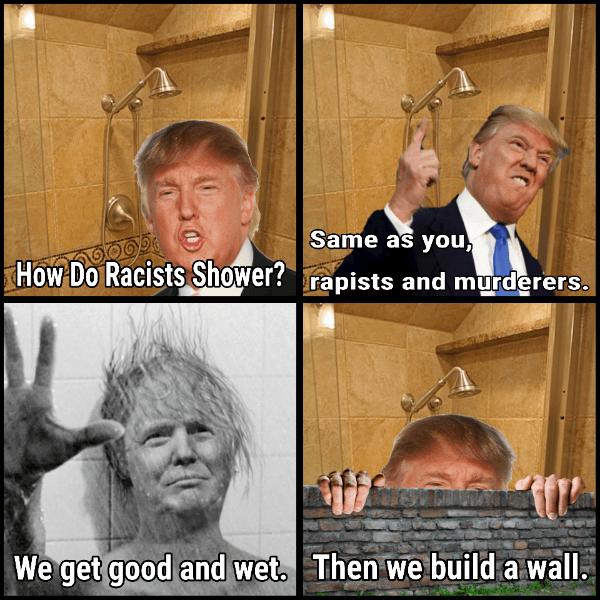 Racist Trump Wash