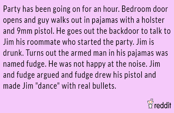 Ridiculous Party Stories
