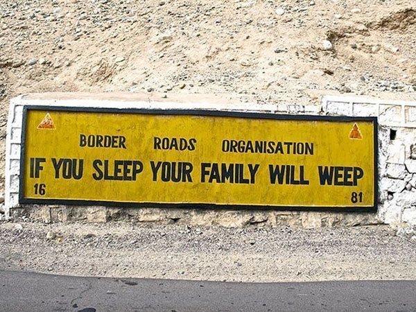 Sleep Weep Sign
