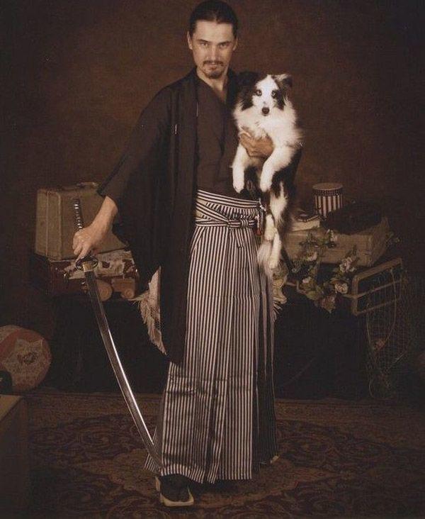 Sword Guy And Dog