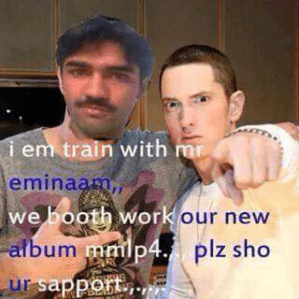 Training With Eminem