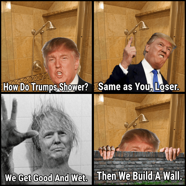 Trump Wall Wash