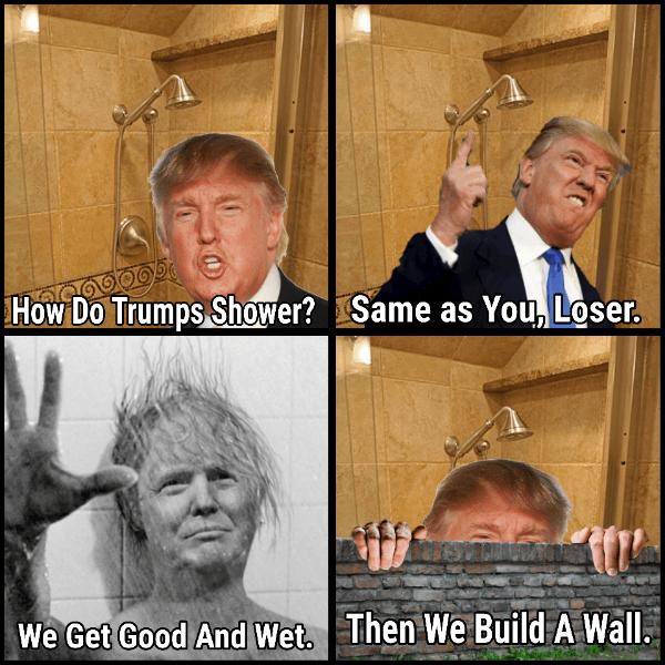 Trump Wall Wash