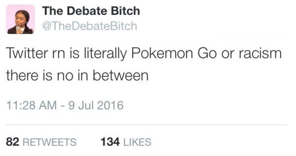 Twitter Pokemon Go