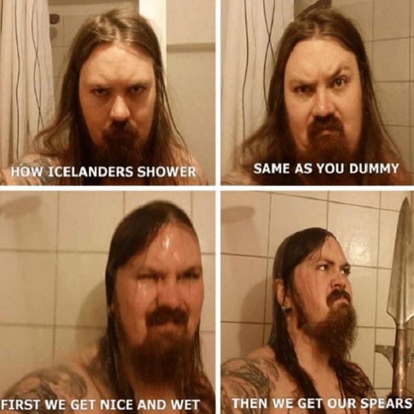 Viking Spear Bath