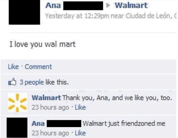 Walmart Rejection