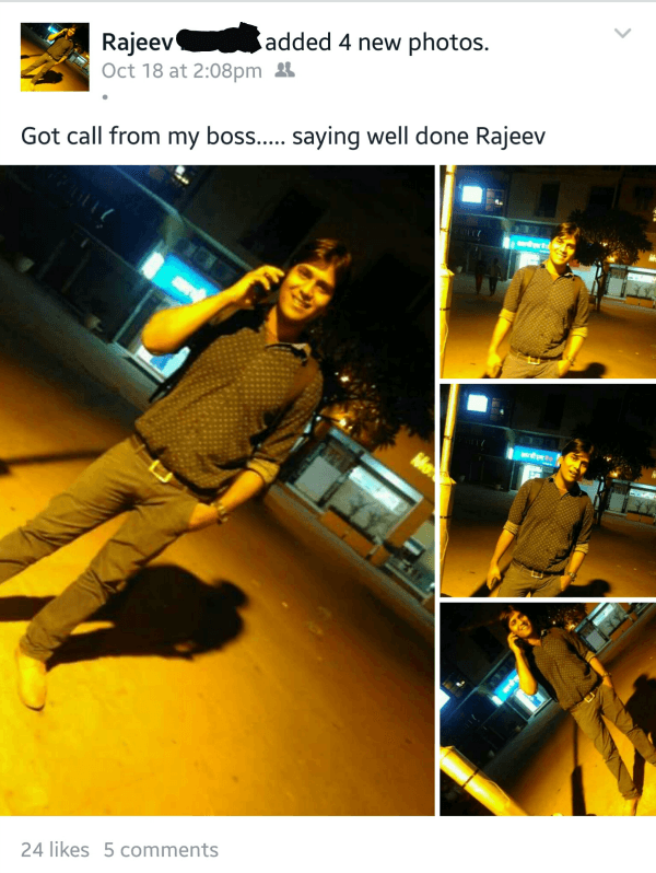 Well Done Rajeev