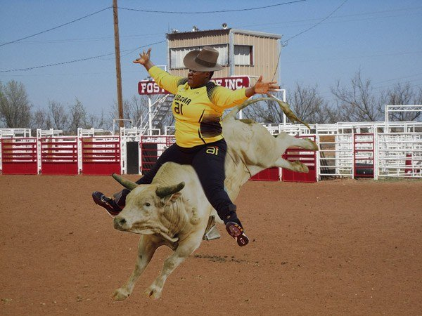 Angolian Goal Keeper Rodeo