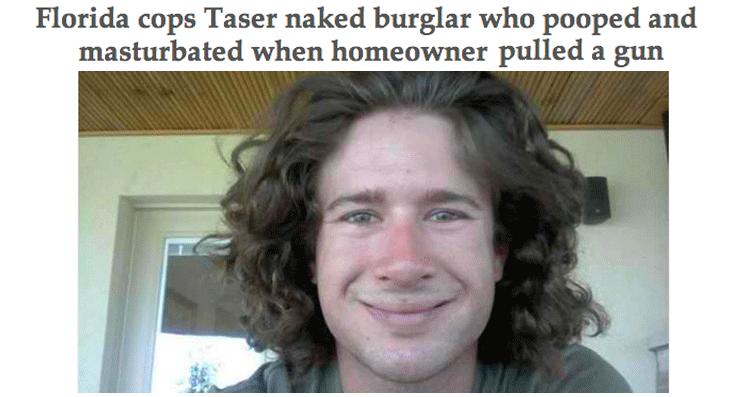 Arrested For Burglarly