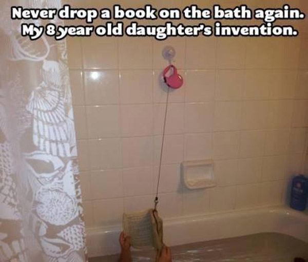 Book In Tub
