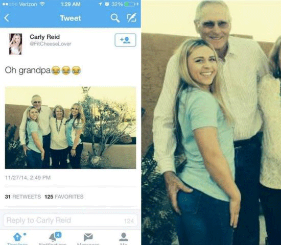 Booty Grab Grandpa