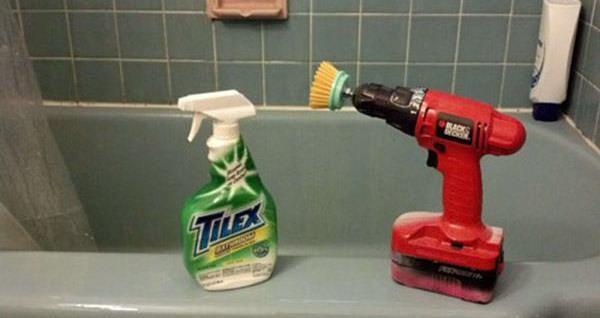 Brush Screw Driver