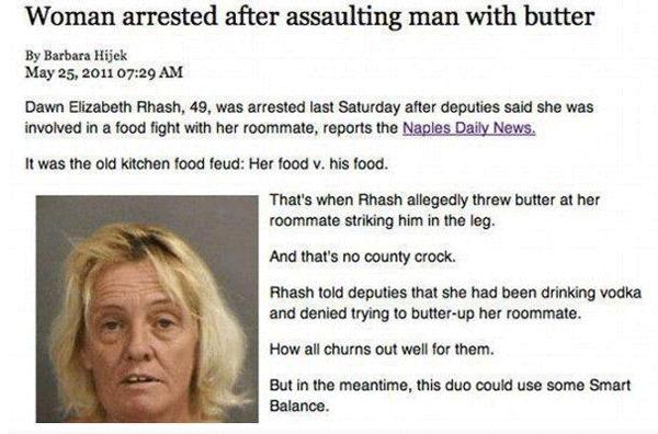 Butter Arrest