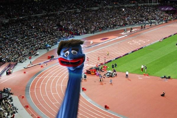 Cheering Fan Sockpuppet