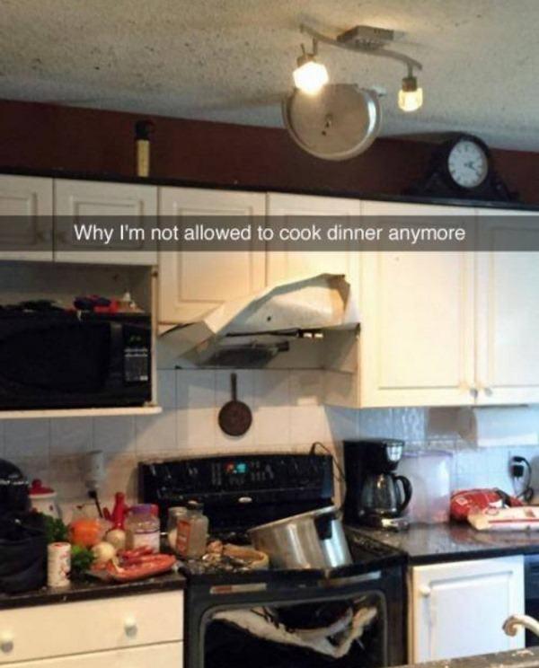 Dinner Gone Wrong