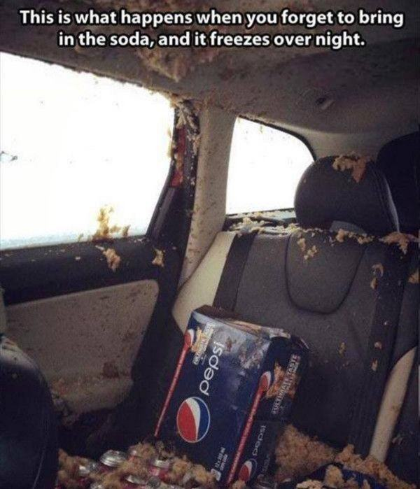 Frozen Soda