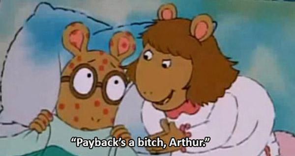 Funny Arthur Memes Payback