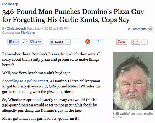 Garlic Knots Assault
