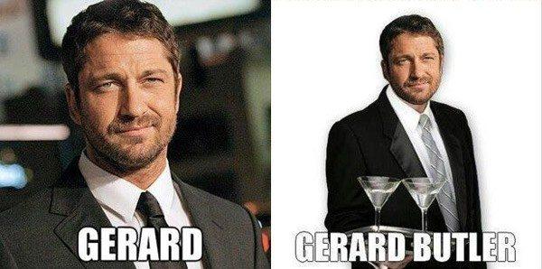 Gerard Butler Namepun