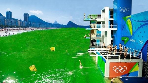 Green Pool Photoshop