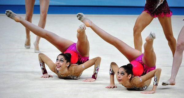 Gymnasts Pose