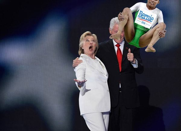 Indian Gymnast Clintons