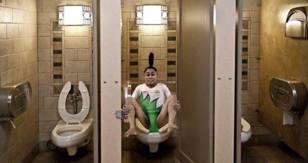 Indian Gymnast Rio Photoshop
