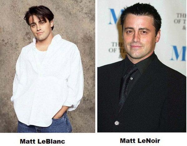 Matt Leblanc Namepun