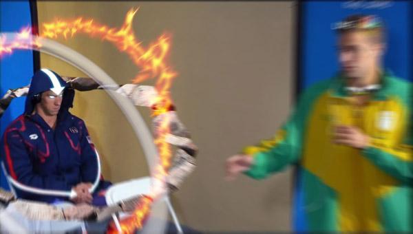 Michael Phelps Airbender