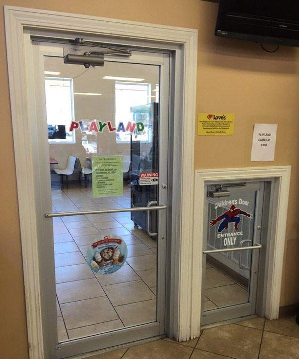 Mini Kids Door
