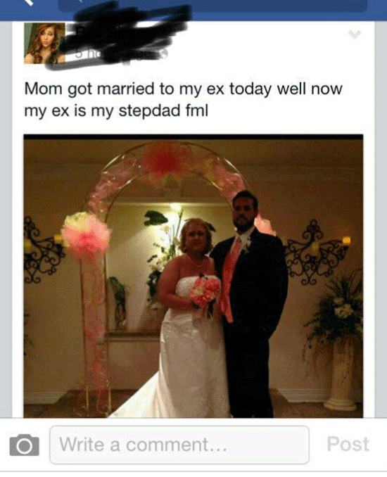 Mom Marries Ex