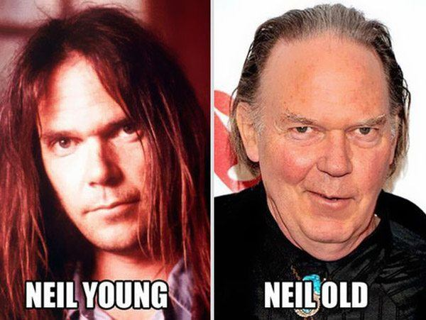 Neil Young Old Young