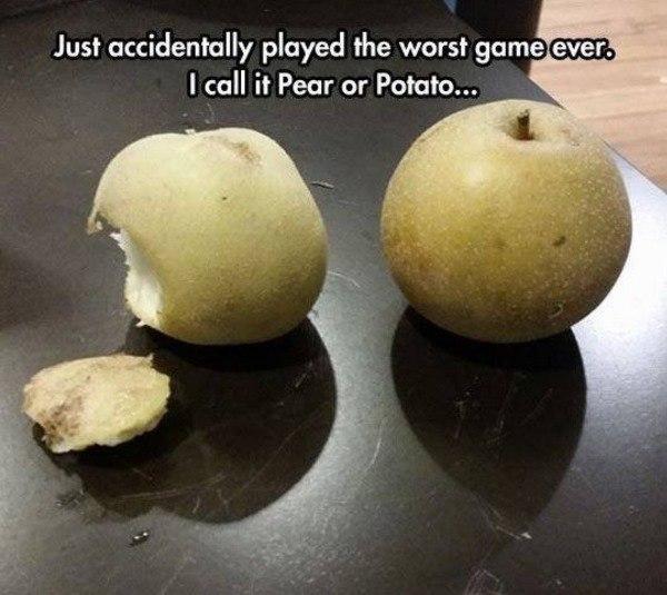 Pear Or Potato