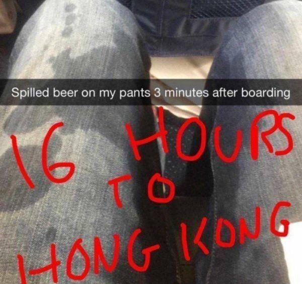 Plane Trip Gone Wrong