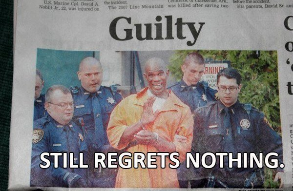 Regret Nothing Con
