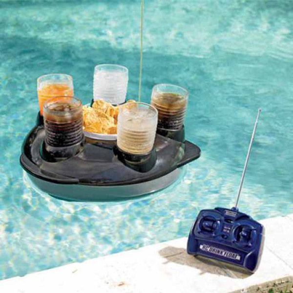 Remote Drink Boat
