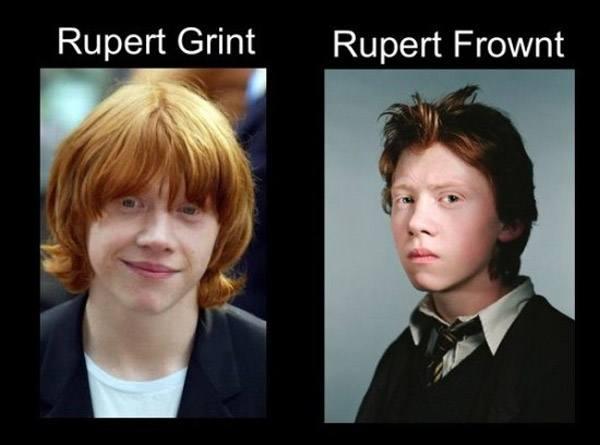 Rupert Grint Rupert Frownt