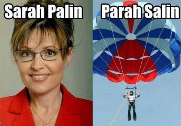 Sarah Palin Parah Salin
