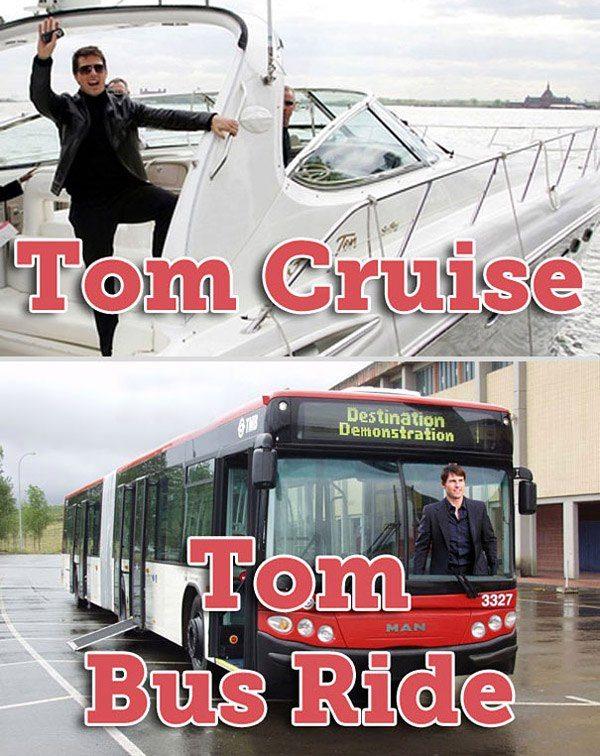 Tom Cruise Celebrity Puns