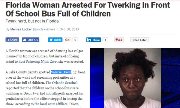 Twerk Arrest