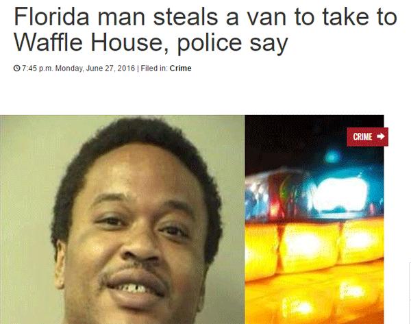 Waffle House Arrest