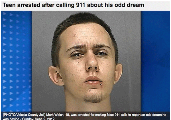 Weird Dream Arrest