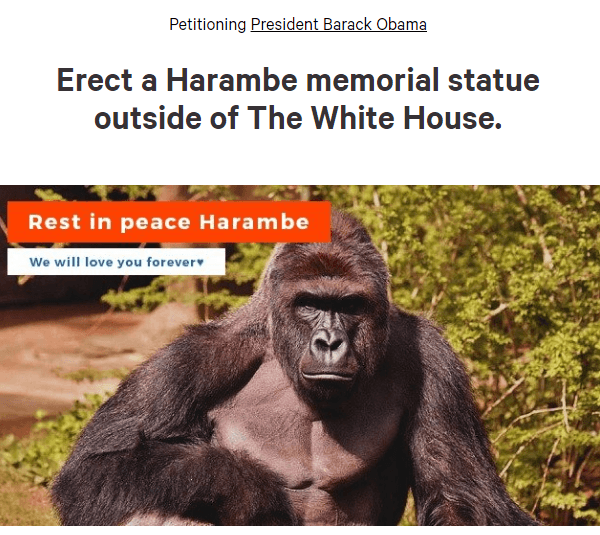 White House Statue