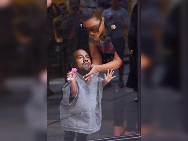 Baby Kanye Funny Photoshops