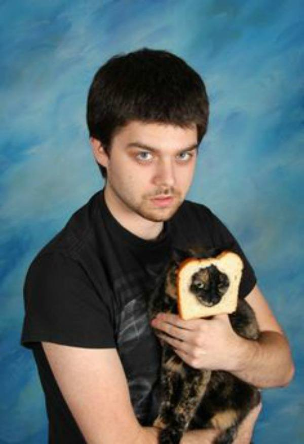 Cat Face Bread
