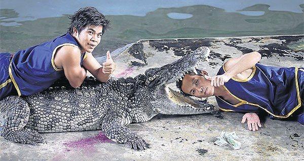 Croc Stuntmen