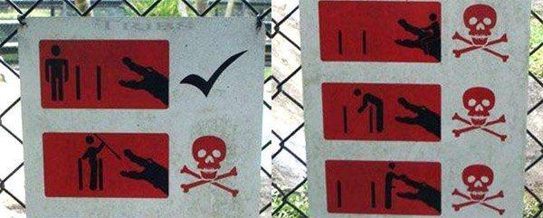 Croc Warning Signs