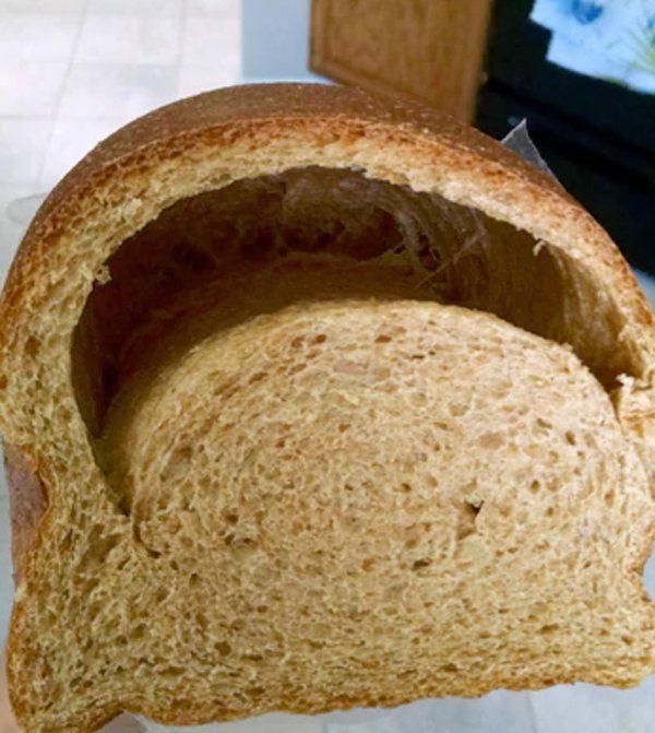 Deflated Bread