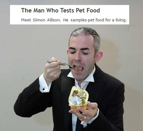 Dog Food Taster